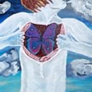Breathe Deep Poster by Lisa Brandel