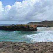 Breathtaking Boca Keto Beach On The Island Of Aruba Poster