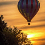 Breathtaking Hot Air Poster