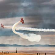 Breitling Wingwalker Biplanes Poster