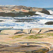 Bretagne 2 Poster by Muriel Dolemieux