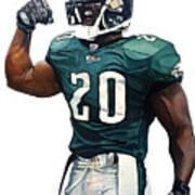 Brian Dawkins - Philadelphia Eagles Poster