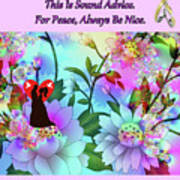 Brian Exton Celestial Flowers  Bigstock 164301632  2991949 Poster