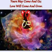 Brian Exton Night Flowers  Bigstock 164301632  231488 Poster