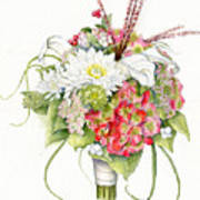 Bridal Bouquet Poster