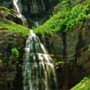Bridal Veil Falls Canvas 3 Poster