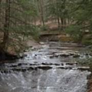Bridal Veil Falls Ohio Poster
