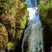 Bridal Veil Falls, Oregon Poster