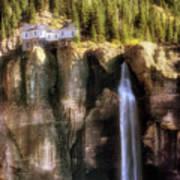 Bridal Veil Falls Power Plant - Telluride - Colorado Poster