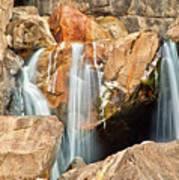 Bridalveil Fall In Yosemite Np Poster