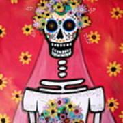 Bridezilla Dia De Los Muertos Poster