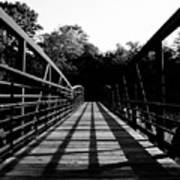 Bridge And Tunnel - B/w Poster