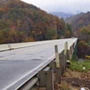 Bridge At Butler Poster