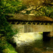 Bridge At Red Mill Poster