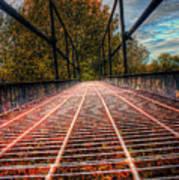 Bridge Crossing  Poster