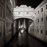 Bridge Of Sighs In The Night Poster