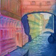 Bridge Of Sighs Venice Poster