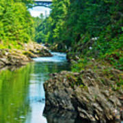 Bridge Over Quechee Gorge-vermont  Poster