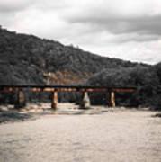 Bridge Over The Winooski Poster