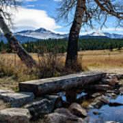 Bridge To Long's Peak Poster