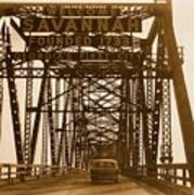 Bridge To Savannah Poster