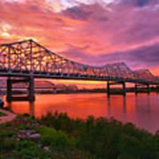 Bridges At Sunrise II Poster
