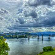 Bridges Of Chattanooga Tennessee Poster