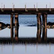 Bridge's Reflection Poster