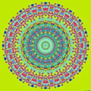Brigadoon No. 7 Mandala Poster
