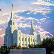 Brigham City Utah Temple Poster