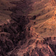 Bright Angel Canyon Grand Canyon National Park Poster