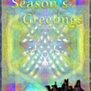 Bright Chalice Tree N 3 Kings Poster
