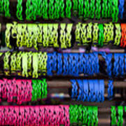 Bright Leather Bracelets Poster