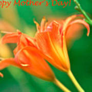 Bright Mother's Day Card Poster
