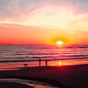 Bright Sunset Poster