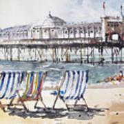 Brighton England Poster