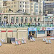 Brighton Seaside  Poster