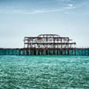 Brighton West Pier Poster
