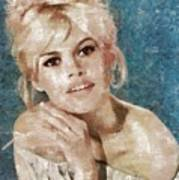 Brigitte Bardot, Actress Poster