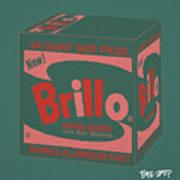 Brillo Box Colored 10 - Warhol Inspired Poster