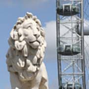 Britannia Lion Poster