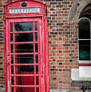 British Phone Box Poster
