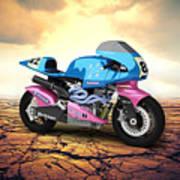 Britten V1000 1995 Desert Poster
