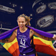 Brittney Griner Lgbt Pride 3 Poster