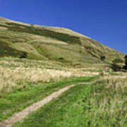 Broadlee-bank Tor From The Pennine Way Poster
