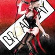 Broadway Style Poster
