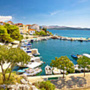 Brodarica Village On Adriatic Sea Poster