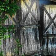 Broken Barn Door Poster by Joyce Kimble Smith