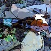 Broken Bottle Poster