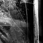 Broken Glass Window Poster